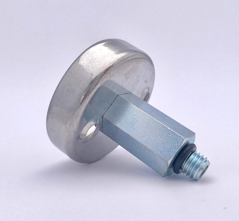 Adaptador de dep/ósito Dish LPG GPL M10, corto, 60 mm