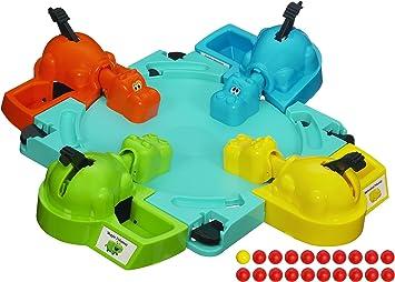 Hasbro Elefun y Amigos Juegos Hungry Hippos Juego de Mesa (Paquete de 1): Amazon.es: Juguetes y juegos