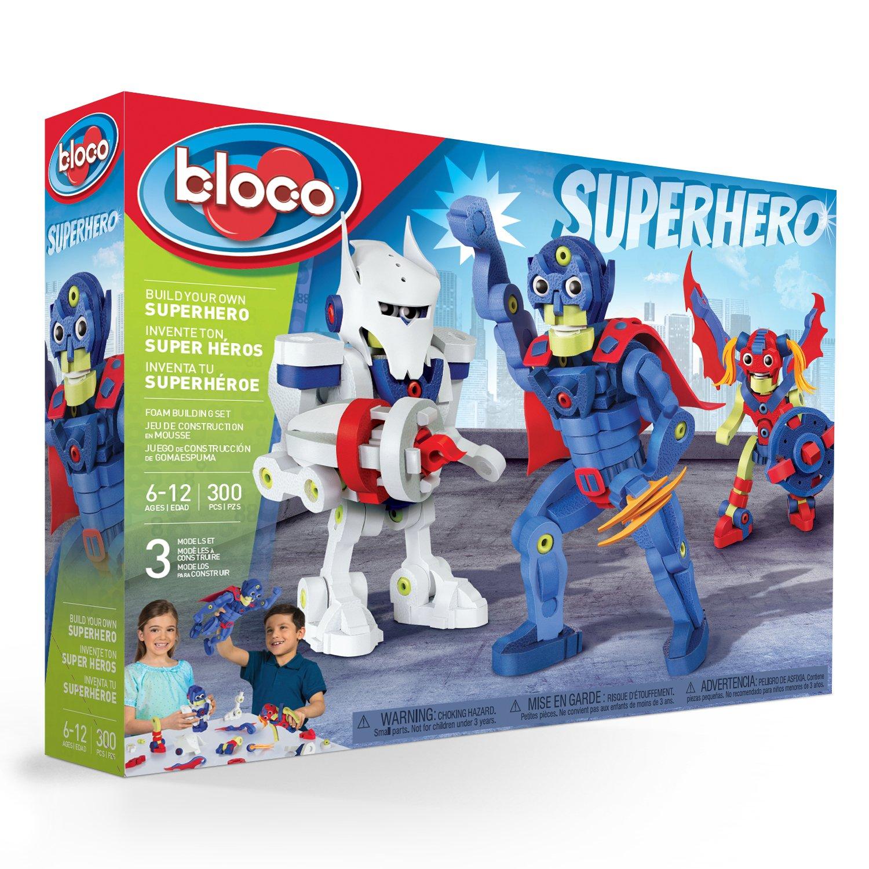 Bloco Toys Build Your Own Superhero Building Kit Toy