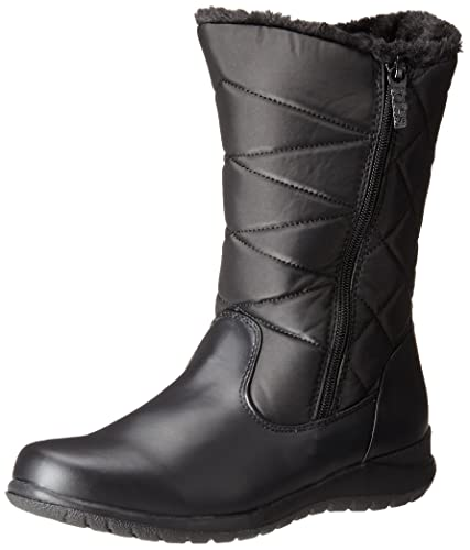 Amazon.com | Totes Women's Edgen Zip Snow Boot | Snow Boots