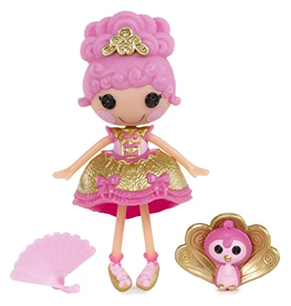 Amazon Com Lalaloopsy Mini Doll Goldie Luxe Toys Games