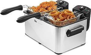 Elite Platinum EDF-4080 Maxi-Matic 8 Quart Deep Fryer, Stainless Steel