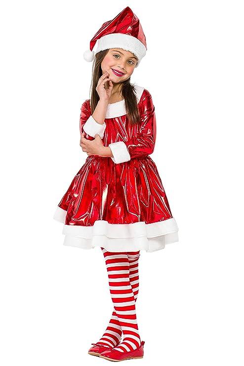 Disfraz Mama Noel Electric (5-6 AÑOS): Amazon.es: Juguetes y ...