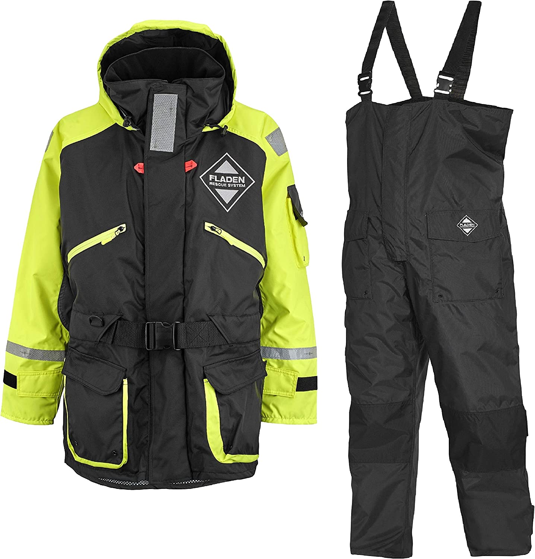 Fladen救援系统857XY游泳衣/浮水服-挪威救生服-浮选-浮法2件:Amazon.de:Bekleidung