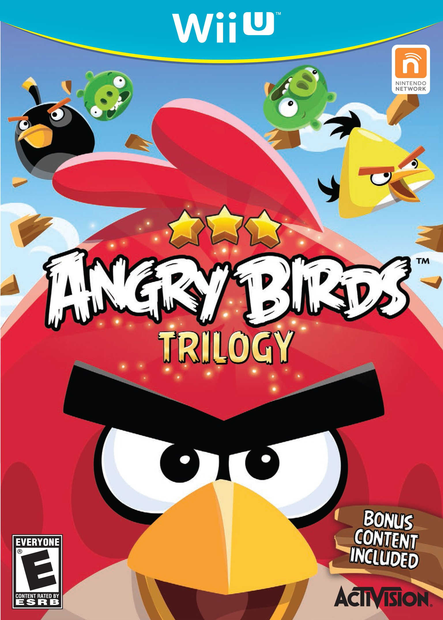 Angry Birds Trilogy - Wii