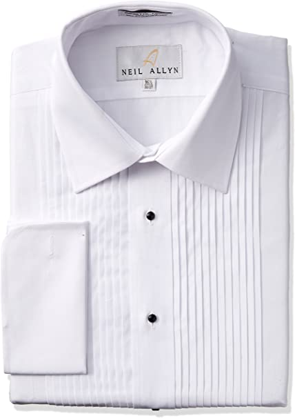 Amazon.com: Camisa Tuxedo de Neil Allyn - 100% Algodó ...