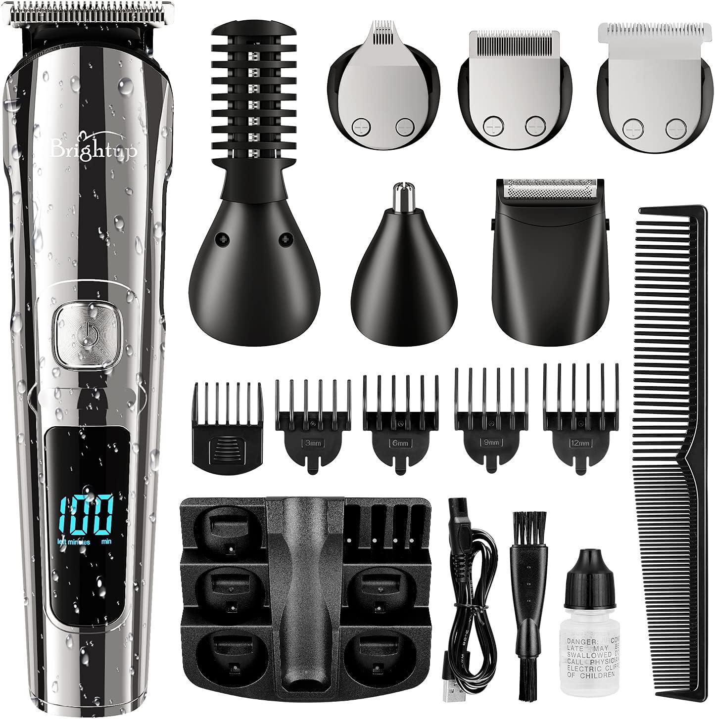 Brightup Cordless Hair Clippers Hair/ Beard Trimmer