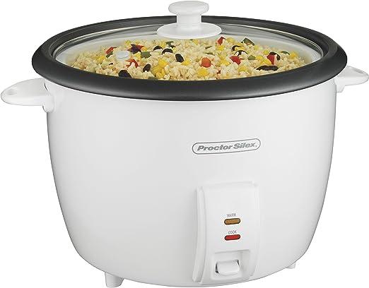 Amazon.com: Olla para cocción de arroz (8 tazas ...