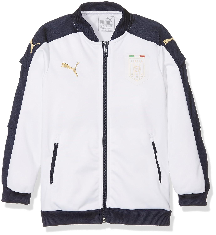 f27574318aac Puma Children s Jacke FIGC Italia Stadium TRIBUTE 2006 Jacket Peacoat-White