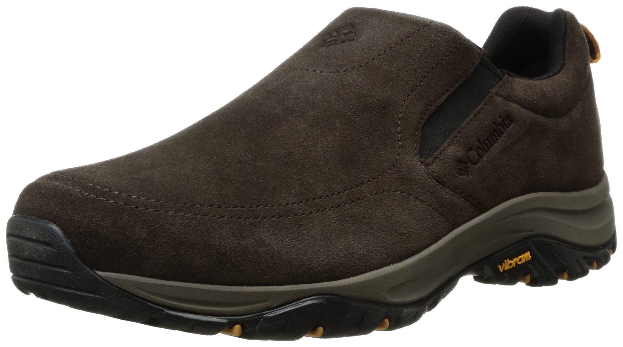 Columbia Men's Terrebonne Moc Uniform Dress Shoe, Cordovan, Black, 7 D US by Columbia