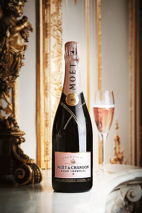 Moët & Chandon - Champagne rosado Brut Impérial: Amazon.es ...