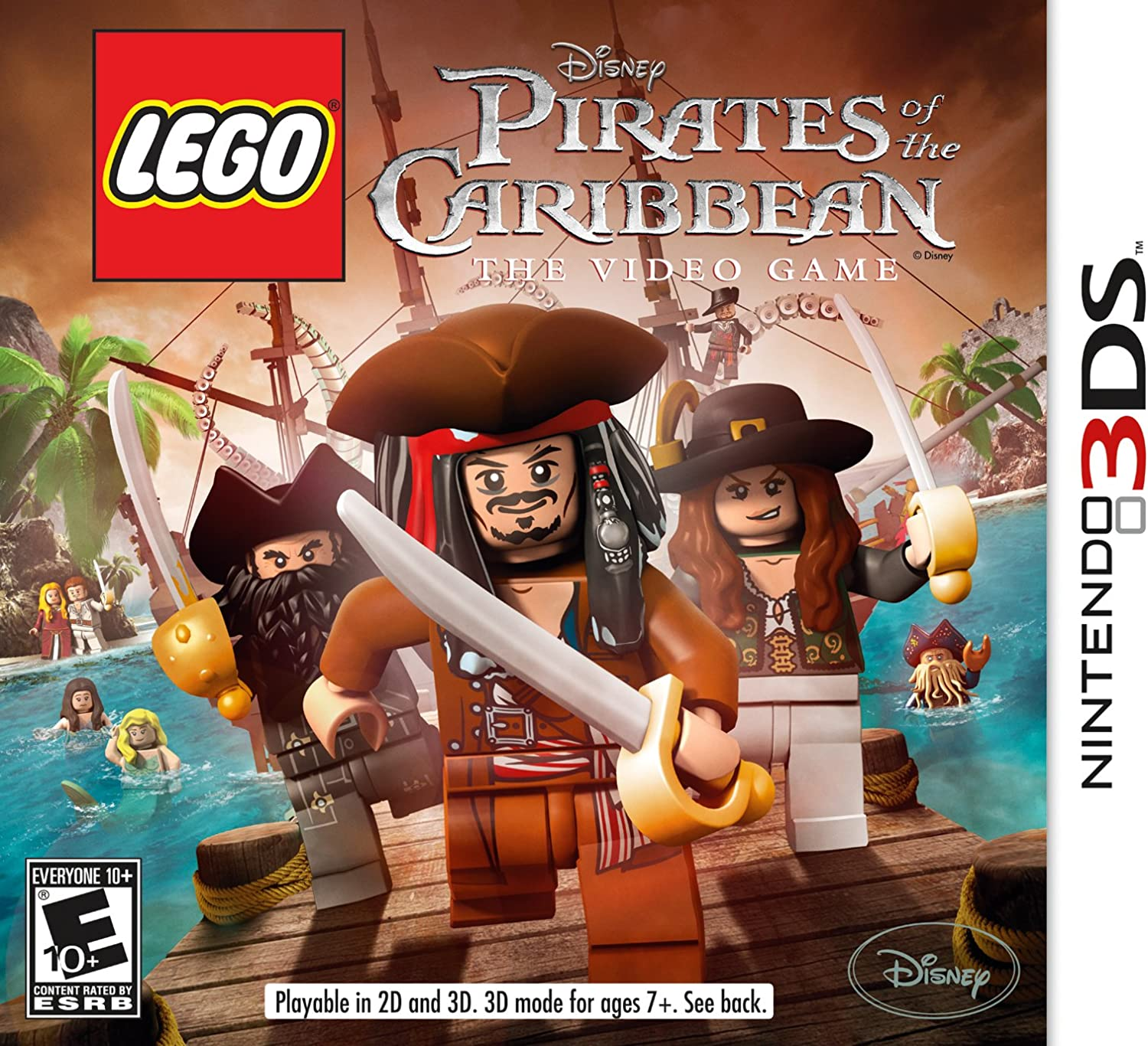 Amazoncom Lego Pirates Of The Caribbean Pc Video Games