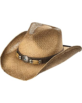 Cody James Men s Contraband Straw Cowboy Hat Brown One Size at ... 0426c0fed97