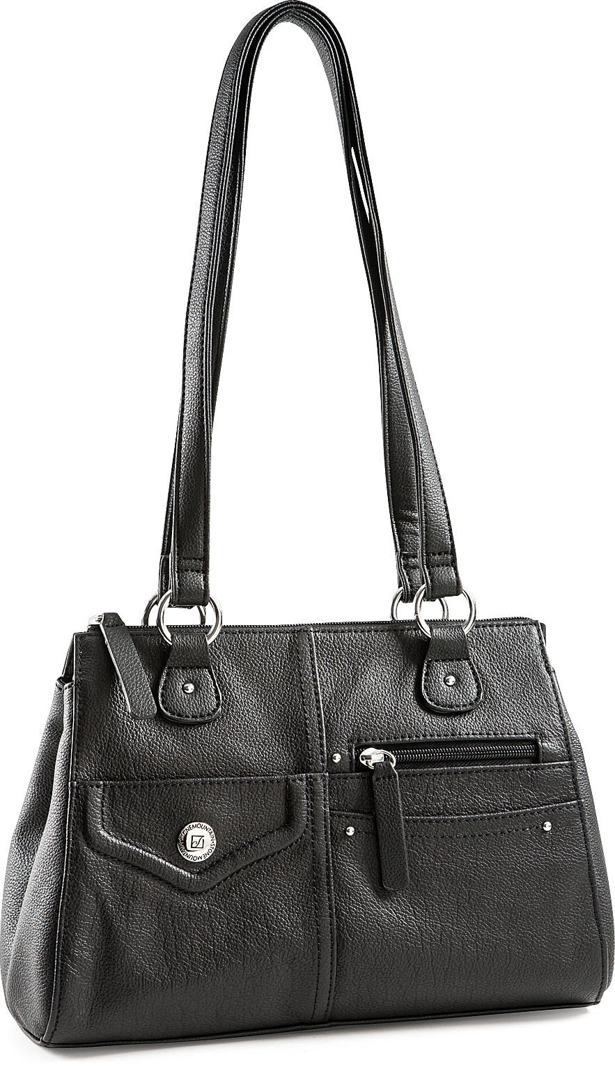 Stone Mountain Baxter Satchel, Black