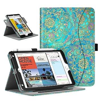 Fintie Funda para iPad Mini 5 / iPad Mini 4 - [Rotación de 360 Grados] Carcasa de Ángulos Múltiples Protección de la Esquina con Función de Soporte y ...