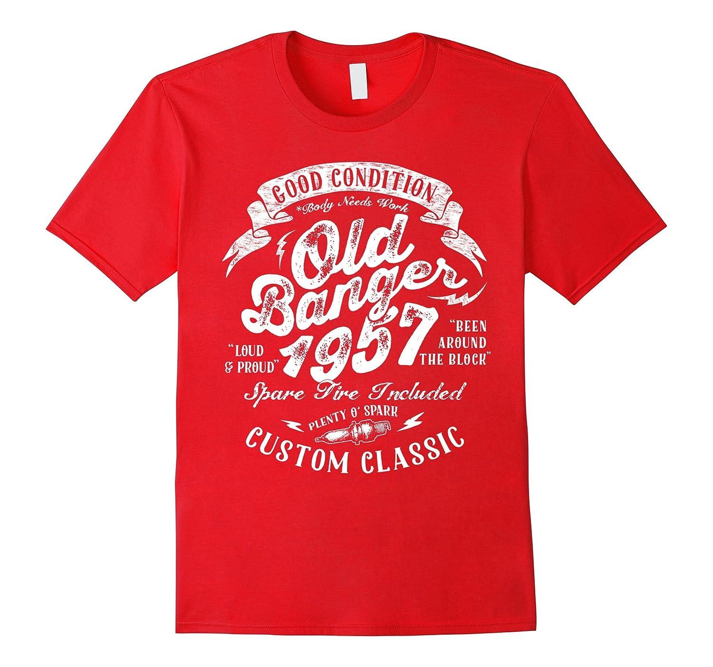 1957 Vintage Old Banger 60th birthday shirt Funny Gift-T-Shirt