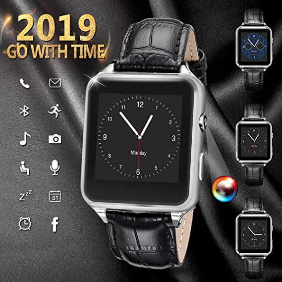 Smart Watch for Android Phones, iFunTec Bluetooth Smartwatch Android Touchscreen Smart Watches with Camera Watch Cell Phone with SIM Card Slot ...