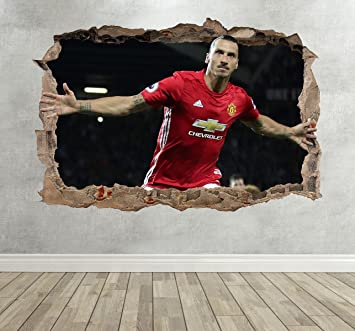 Wandtattoo Zlatan Ibrahimovic Fußballer