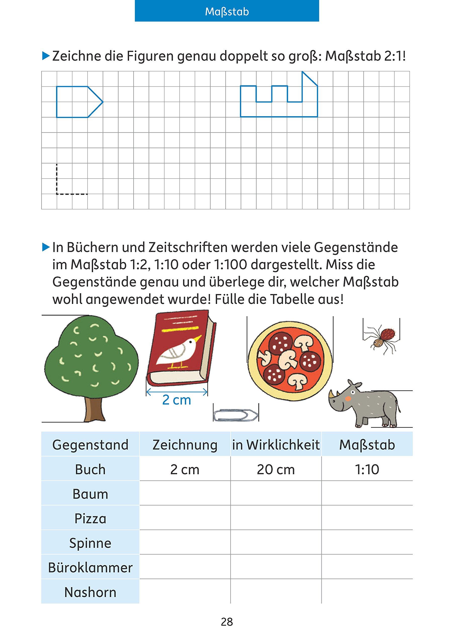 Quer durch die 4. Klasse, Mathe und Deutsch - Übungsblock ...