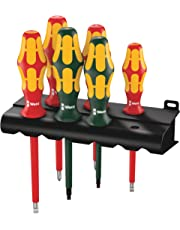 Wera 4013288122957 Wera Kraftform Plus 160i/168i/6 Insulated Professional Screwdriver Set, 6-Piece