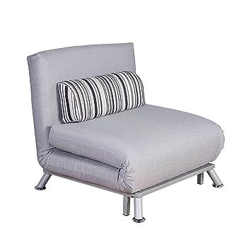 Sofa Cama 75x70x75cm Plegable 2 en 1 Tela Hierro Mobiliario ...