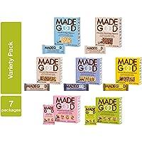 MadeGood Granola Bars/Minis 7 Box Variety Pack (38 Total Pieces)