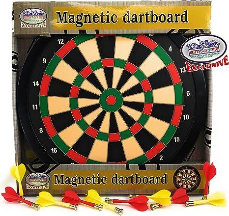 Mattys Toy Stop Deluxe Diana magnética (Tablero de Dardos de 15.5 ...