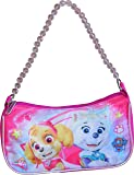 Nickelodeon Paw Patrol Girl's Shoulder Handbag with Beaded Strap, Pink, Size