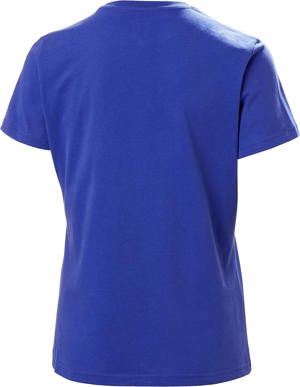Helly Hansen Womens Hh Logo T-Shirt X-Small 514 Royal Blue