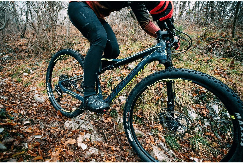 Northwave Fast SP Fahrrad Winter Tr/ägerhose schwarz 2020
