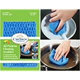 NO ODOR Dish Cloth for All Purpose Dish Washing (1 Pk)   No Mildew Smell from Sponges, Scrubbers, Wash Cloths, Rags, Brush   Outlast ANY Kitchen Scrubbing Sponge or Cotton Dishcloth
