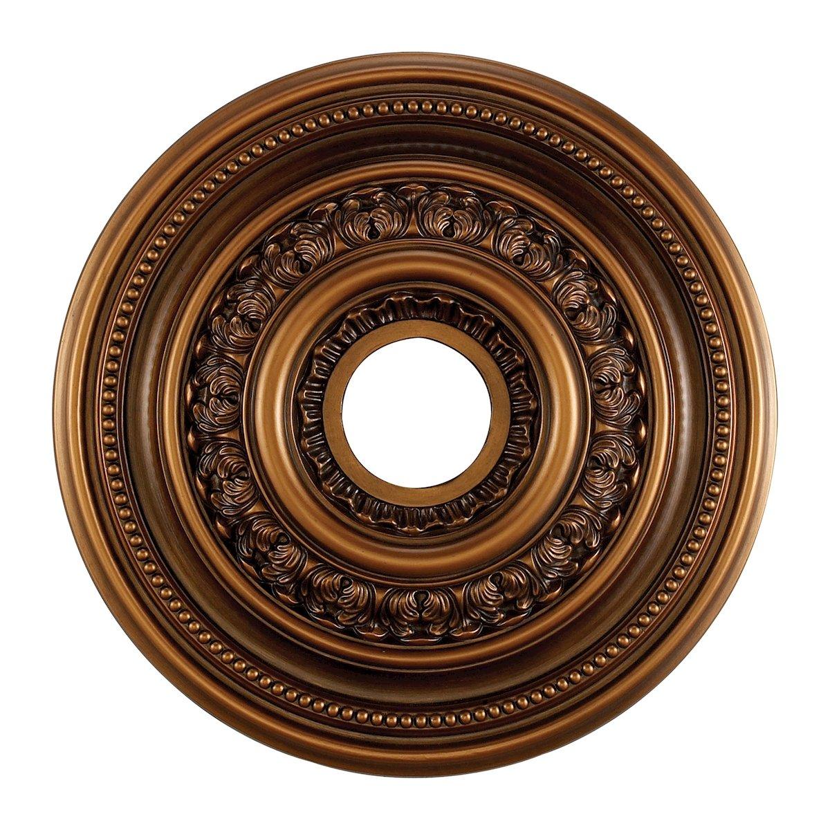 English Study Medallion 18 Inch In Antique Bronze Finish