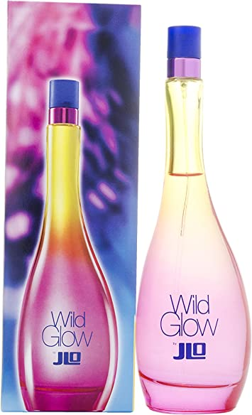 Jennifer Lopez Wild Glow Eau de Toilette Spray per lei, 100 ml