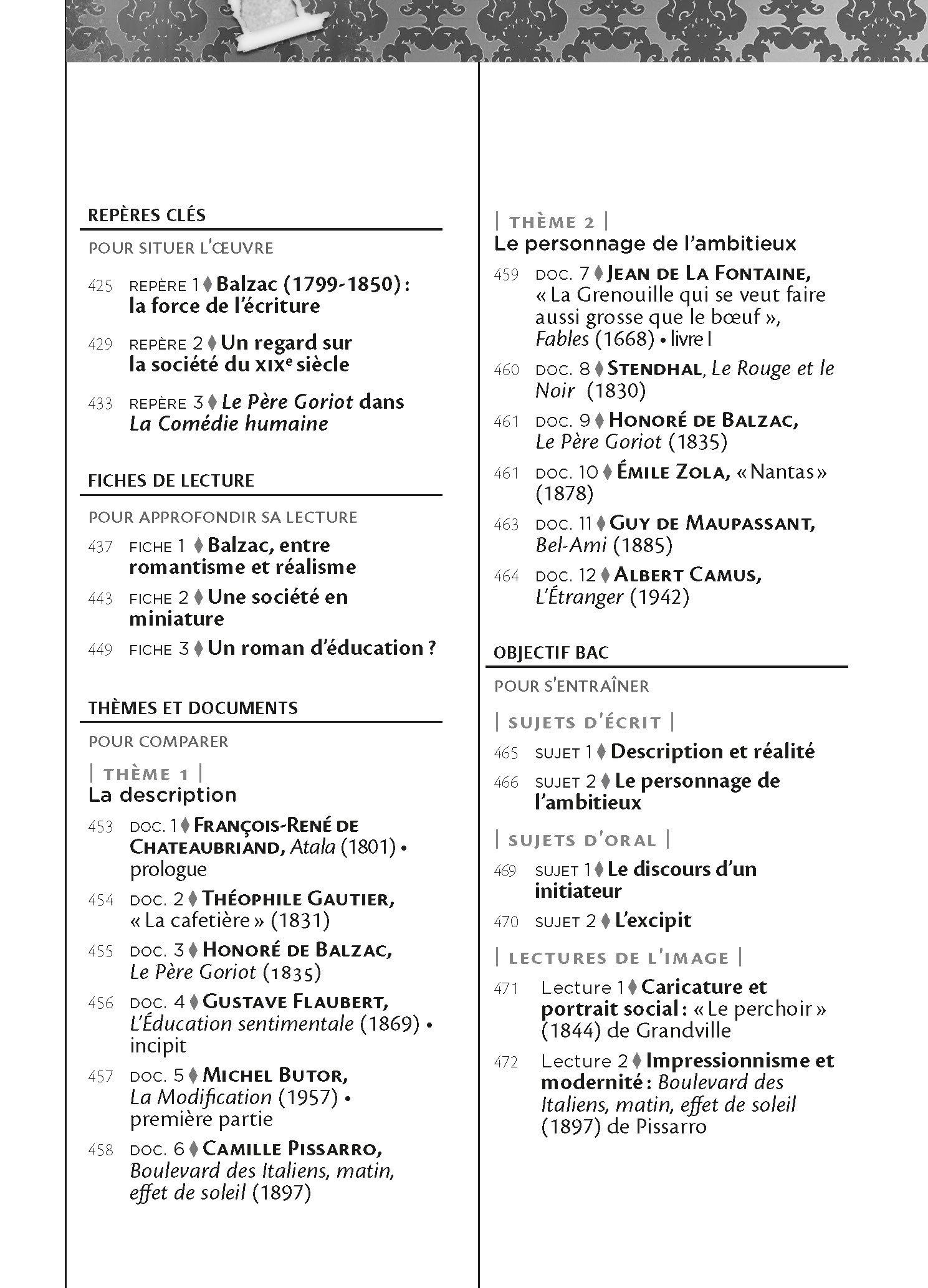 Le Pere Goriot Et Autres Textes Sur Le Theme De Largent (French Edition): 9782218971549: Amazon.com: Books