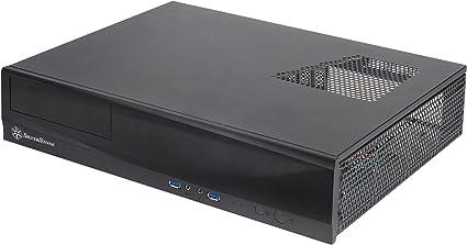 Silverstone SST-ML03B - Caja de ordenador de sobremesa (HTPC ...