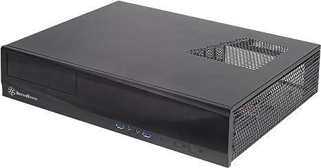 Silverstone SST-ML03B - Caja de ordenador de sobremesa (HTPC, micro-ATX, 1 x USB 3.0, interruptor de encendido/apagado integrado), negro: Amazon.es: Informática