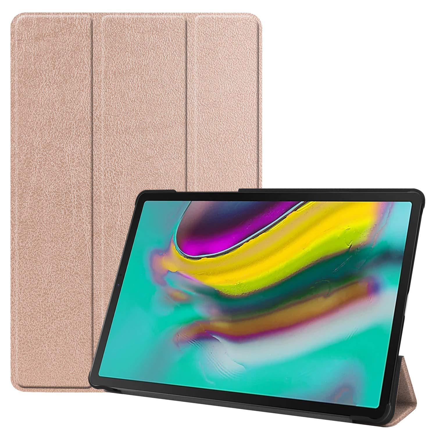 Fmway Case for Samsung Tab S5e Smart Leather Cover with Stand Function Auto Wake//Sleep for Samsung Galaxy Tab S5e T720 T725