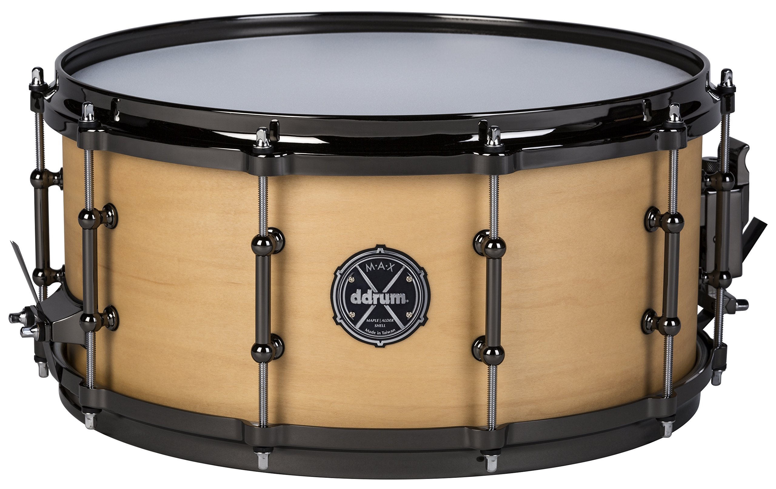 ddrum MAX Series 6.5x14 Snare Drum-Satin Natural (MAXSD65X14SN by Ddrum