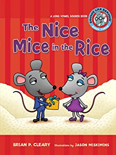 The Nice Mice In Rice A Long Vowel Sounds Book Like Reading