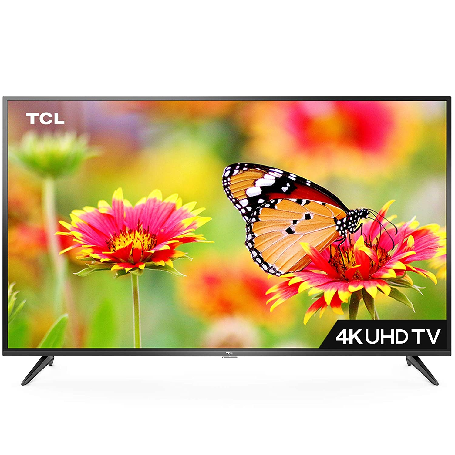 Tcl 107 88 Cm 4k Uhd Smart Led Tv 43p65us Amazon In Electronics
