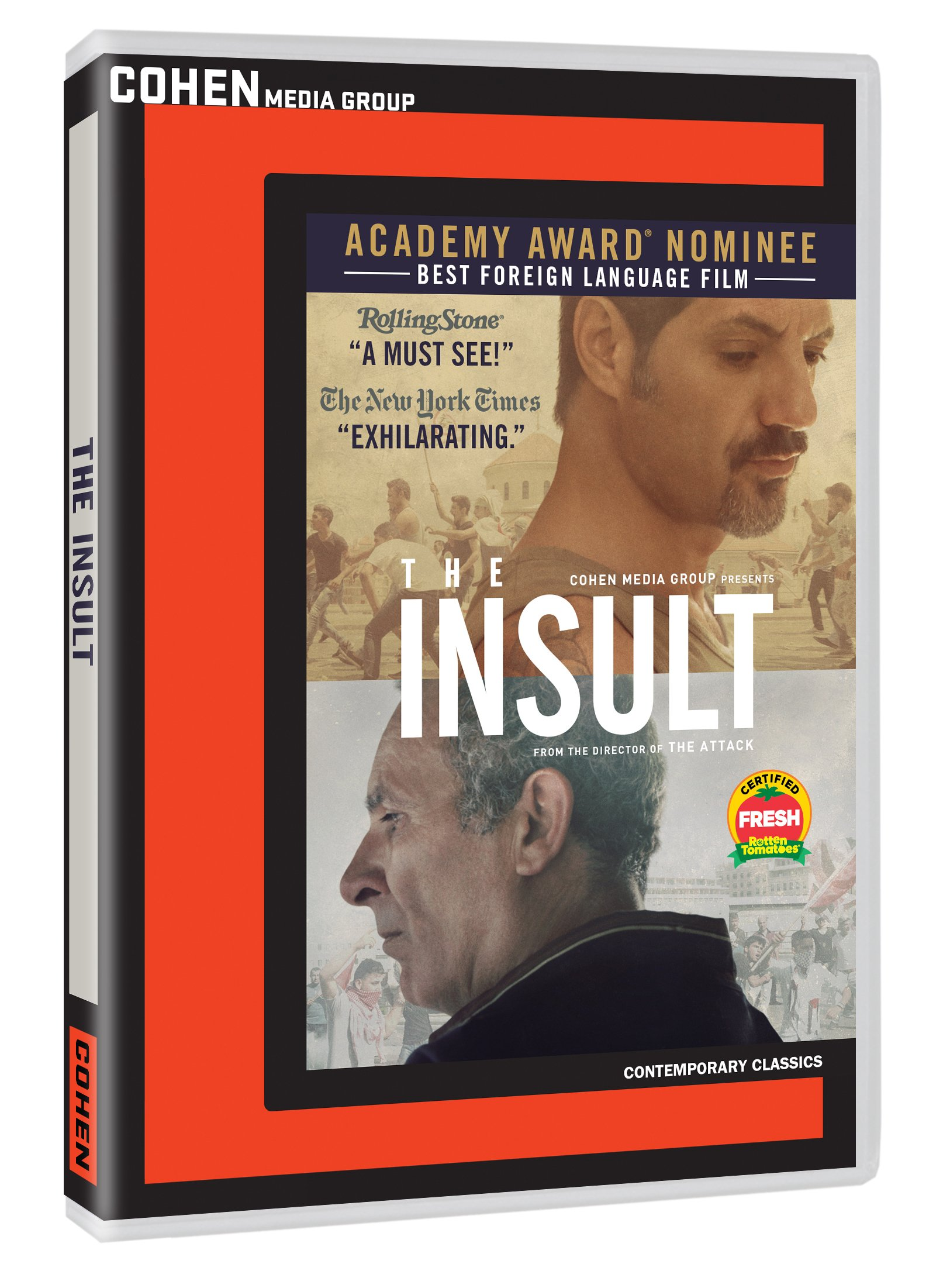 DVD : The Insult (Widescreen, Subtitled, Dolby, AC-3)