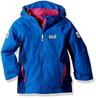 cb981a762c10ba Jack Wolfskin Mädchen G Grivla 3-in-1 Jacket Jacke: Amazon.de: Sport ...