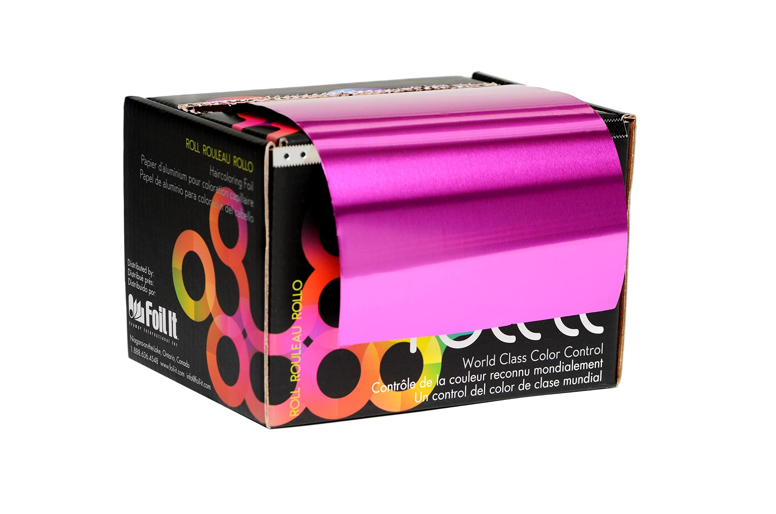 Framar Magenta Aluminum Foil Roll, Foil Paper- Medium 1600 ft by FRAMAR (Image #2)