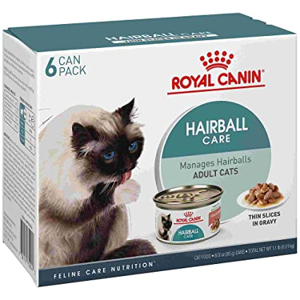 Royal Canin Feline Care Nutrition Hairball Thin Slices in Gravy Wet Cat Food Multipack, 3