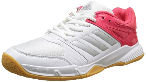 Adidas SPEEDCOURT W, Scarpe da Pallamano Donna, Bianco (Weiß/Silber/Rot