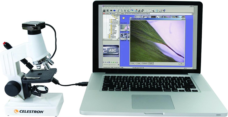 Juego de microscopio digital Celestron 44320