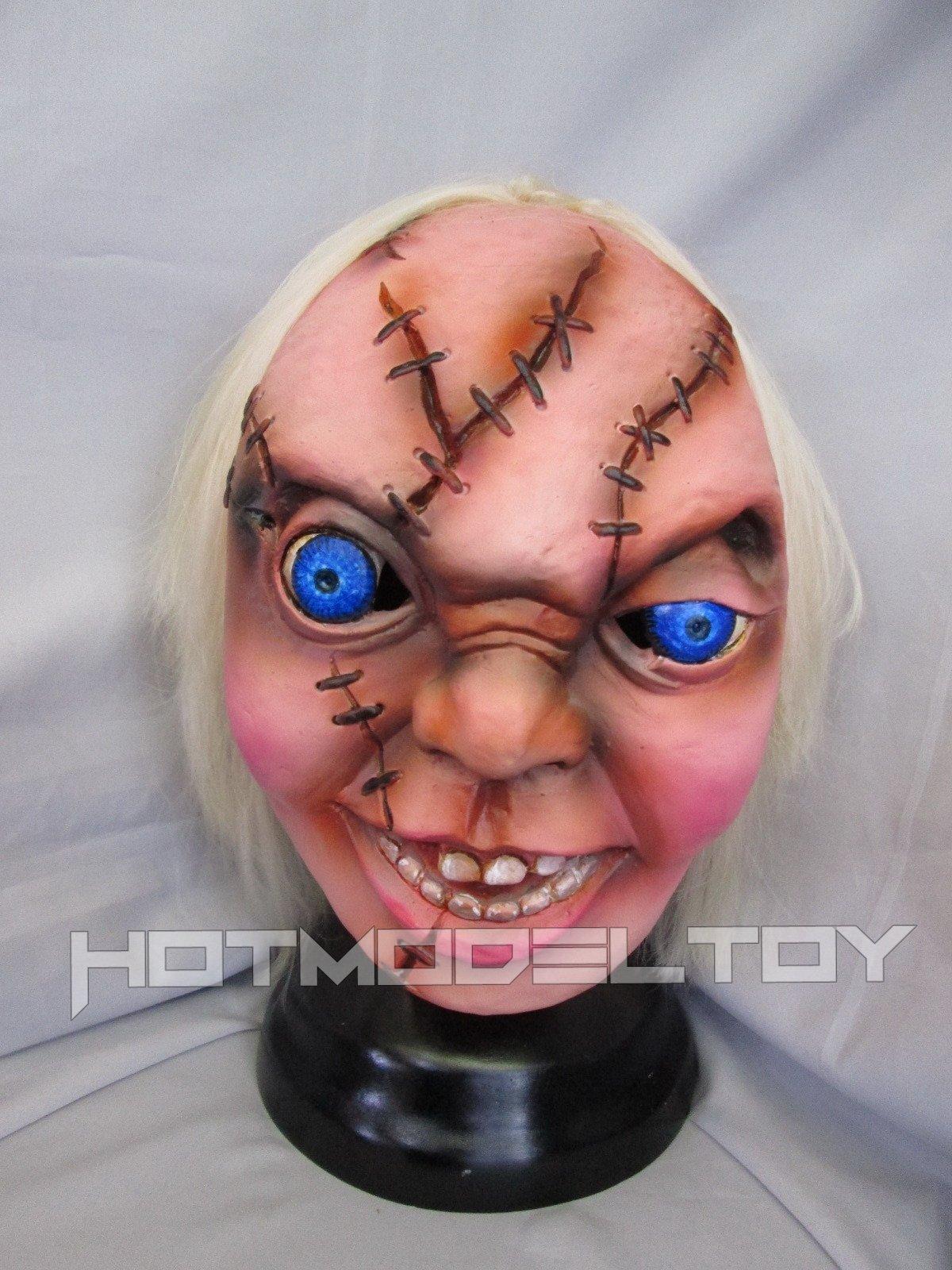 Chucky Jumbo Head Mask Latex Costume