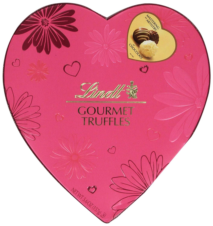 Amazon.com : Lindt Valentine Gift Box, Gourmet Truffles Heart, 5.6 Ounce :  Fudge : Grocery U0026 Gourmet Food