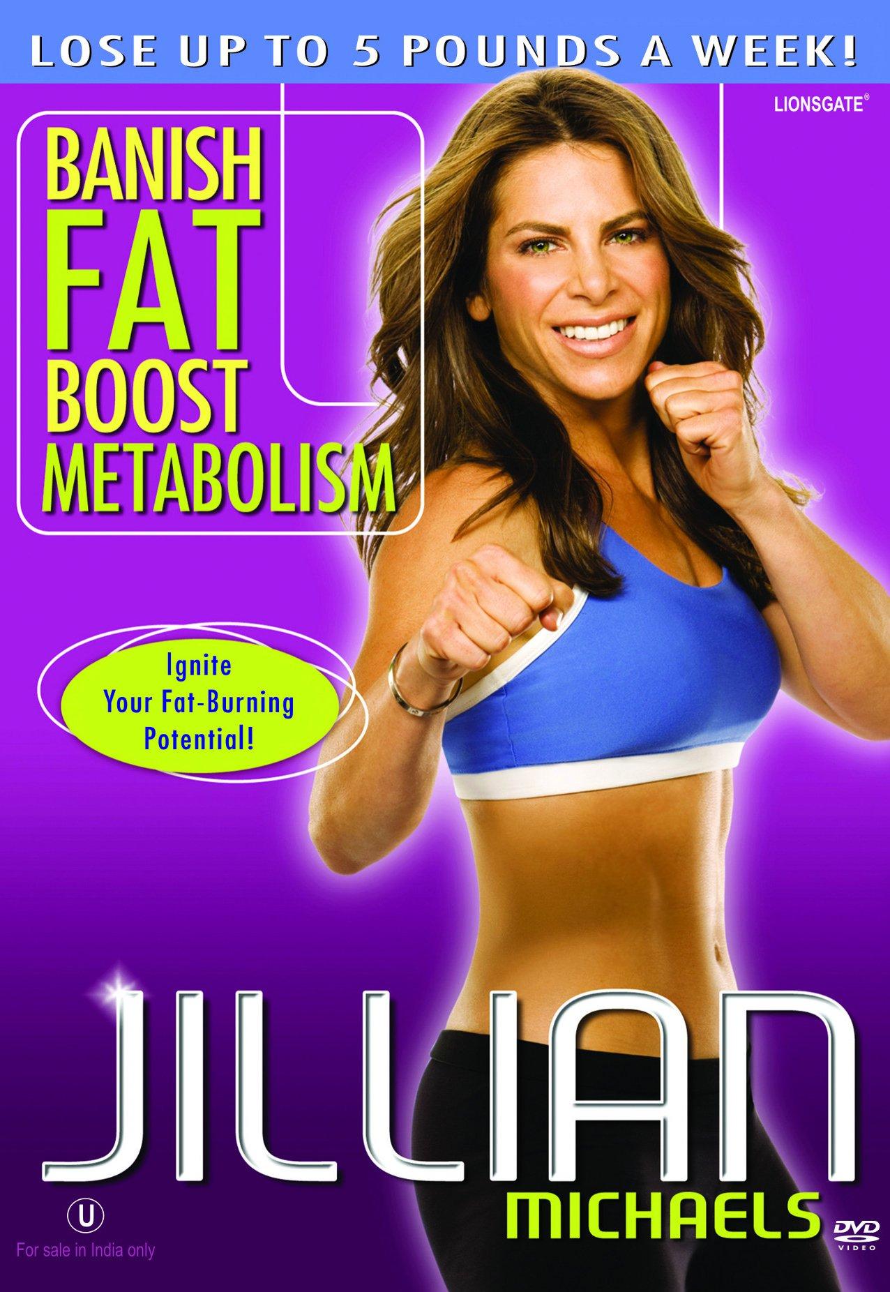 DVD : Jillian Michaels - Banish Fat Boost Metabolism (Full Frame)