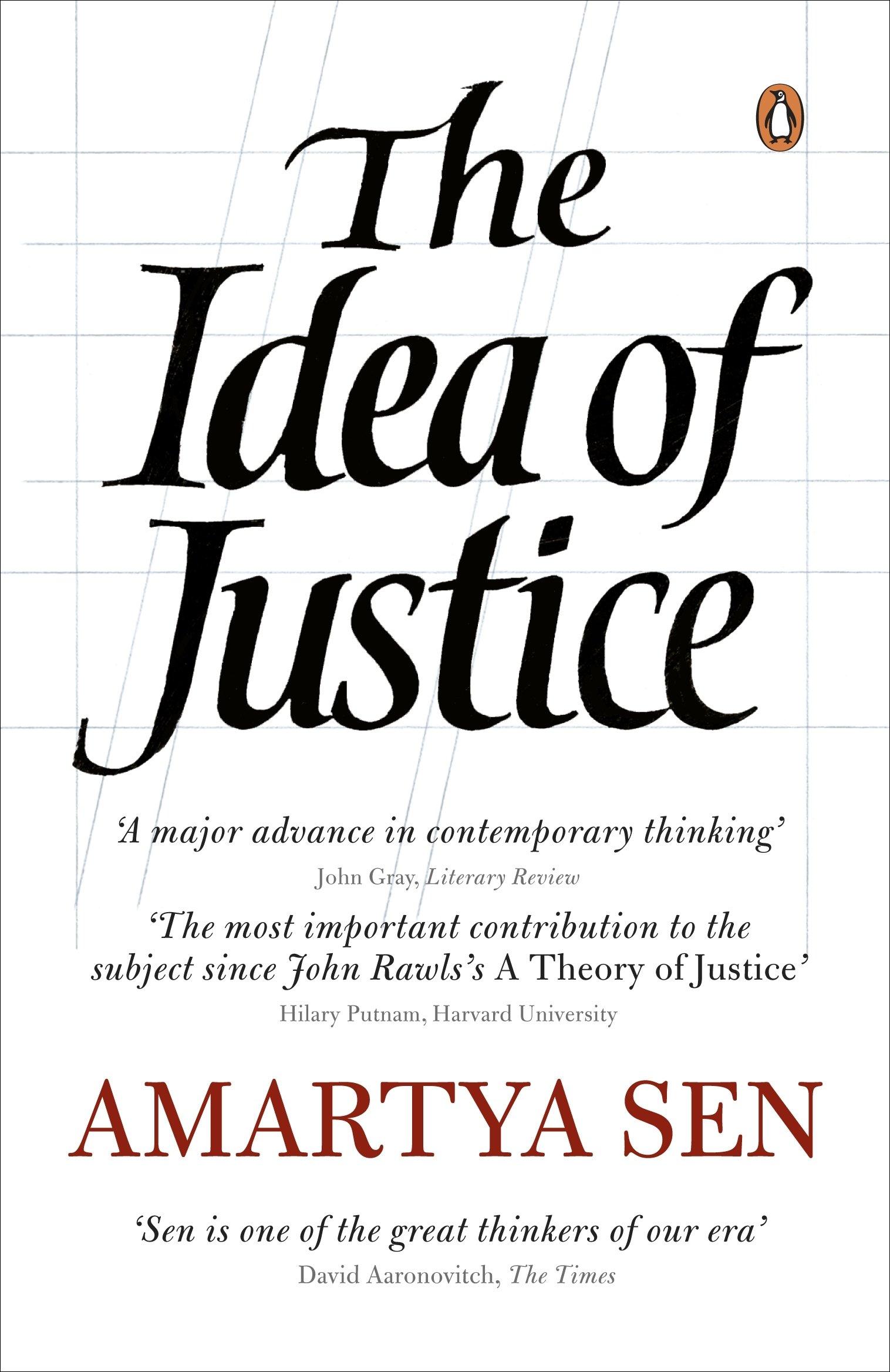amazon the idea of justice amartya sen ethics morality